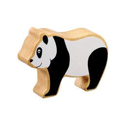 Lanka Kade Wooden Natural Black and White Panda
