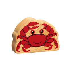 Lanka Kade Wooden Natural Red Crab