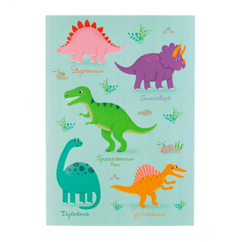 Dinosaur Sketch Book