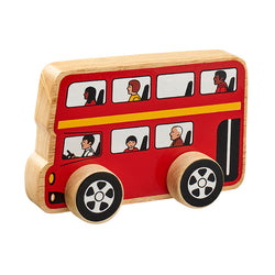 Lanka Kade Wooden Double Decker Wheeled Bus