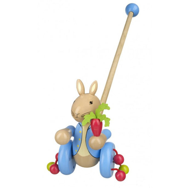 Peter Rabbit Wooden Push Along