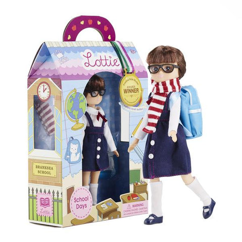 School Days Lottie Doll by Lottie Dolls