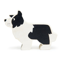 English Sheep Dog Wooden Farm Animals