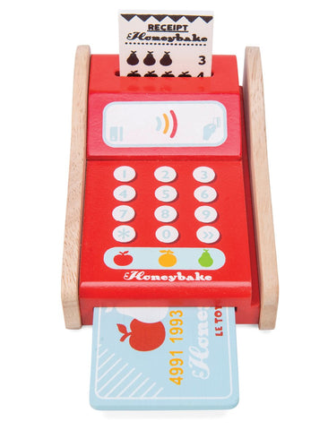 Wooden Card Machine by Le Toy Van
