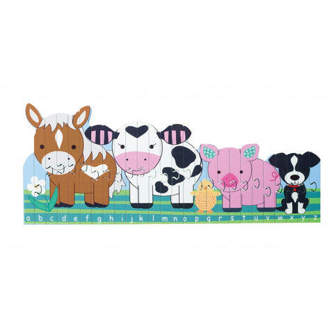 Orange Tree Toys Farm Puzzle