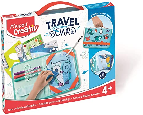 Creativ Travel Board Animals