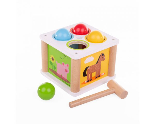 Wooden Tap Tap Ball Game