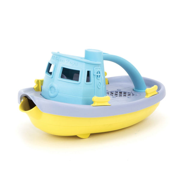Tugboat Light Blue by Green Toys