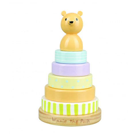 Classic Winnie The Pooh Stacking Wooden Toy