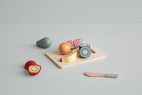 Little Dutch Wooden Cutting Food Fruit