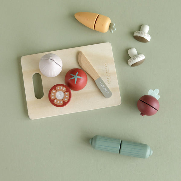 Little Dutch Wooden Cutting Food Vegetables
