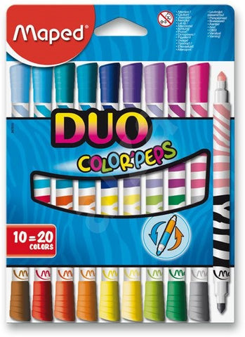 Duo Colour Peps by Maped