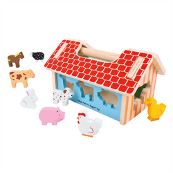 Farm House Sorter by Bigjigs