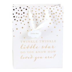 Beautiful Baby Twinkle Star Gift Bags