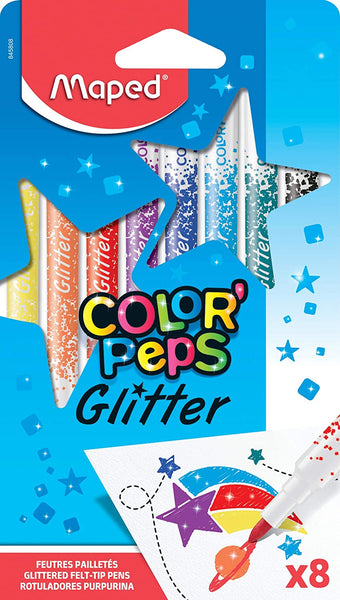Colour Peps Glitter Pens by Maped
