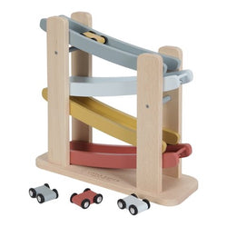 Little Dutch Pure & Nature Wooden Ramp Racer Toy
