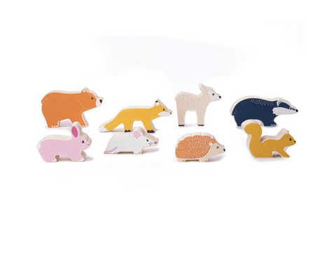 Bigjigs FSC Set Of Wooden Animals
