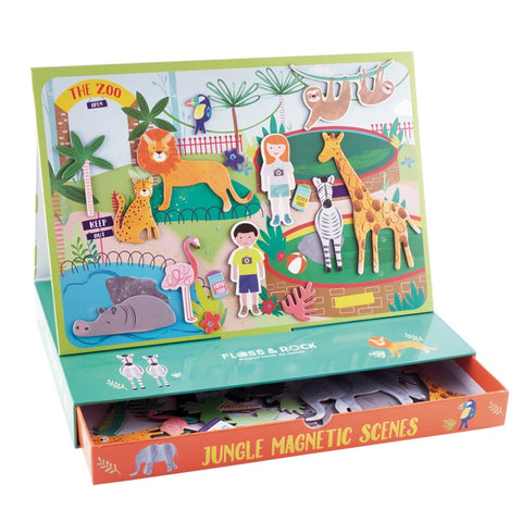 Magnetic Play Scene Jungle