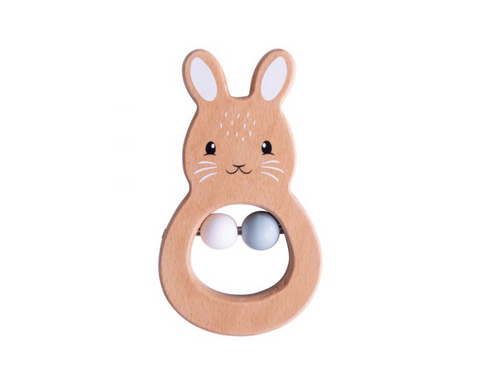 Bigjigs FSC Rabbit Rattle