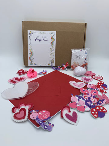 Valentines Letterbox Craft Pack