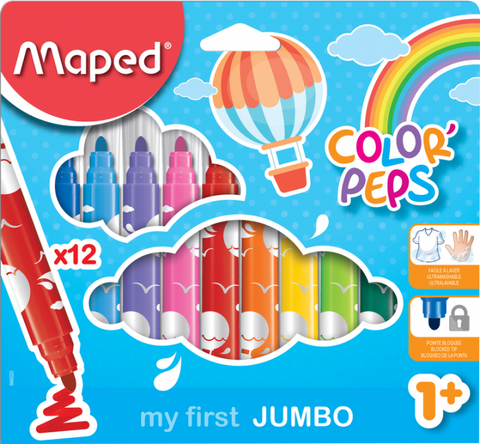 My First Jumbo Felt Tip Pens by Maped