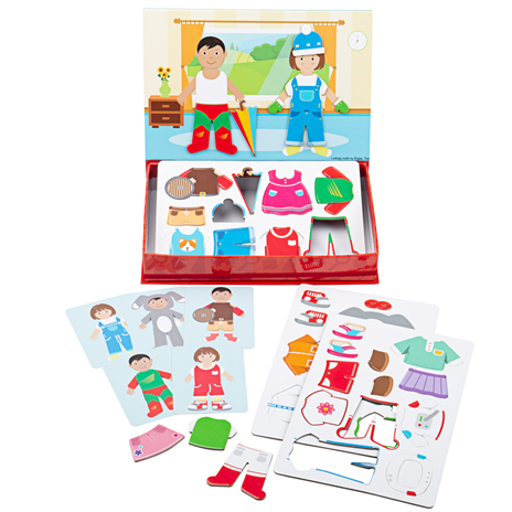 Dressing Up Mag Play Magnetic Play Set by Bigjigs