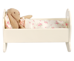 Maileg Wooden White Cradle