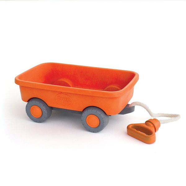 Orange Wagon by Green Toys