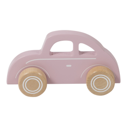 Little Dutch Wooden Pink Car