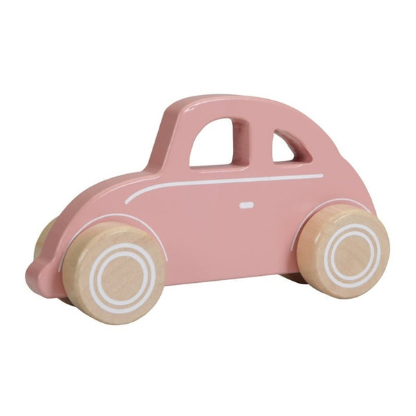 New Little Dutch Pink Car Wooden Toy