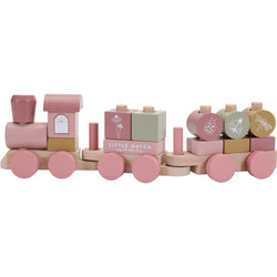 Little Dutch Pink Wild Flowers Stacking Train