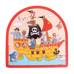 Pirate Arched Wooden Puzzle by Bigjigs