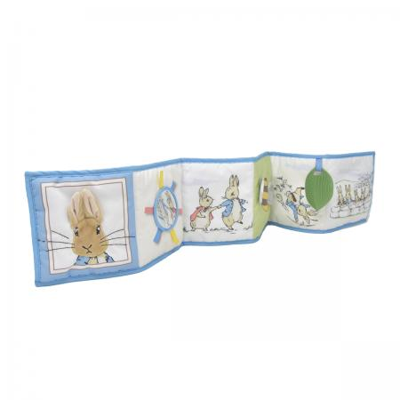 Peter Rabit Unfold & Discover Fabric Activity Book