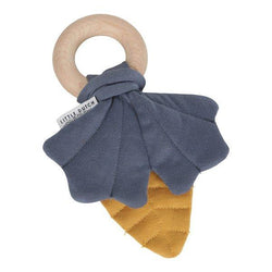 Copy of Little Dutch Crinkle Leaf Toy Blue and Yellow