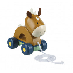 Orange Tree Toys Pull Along Pony
