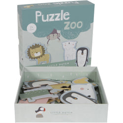 Little Dutch Animal Puzzle Zoo