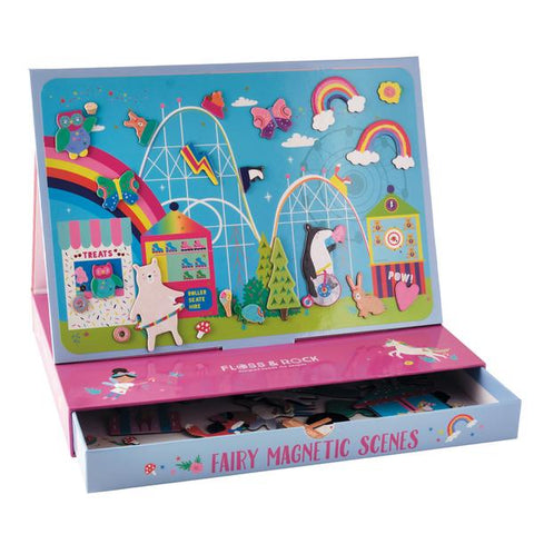 Rainbow Fairy Magnetic Play Set by Floss and Rock