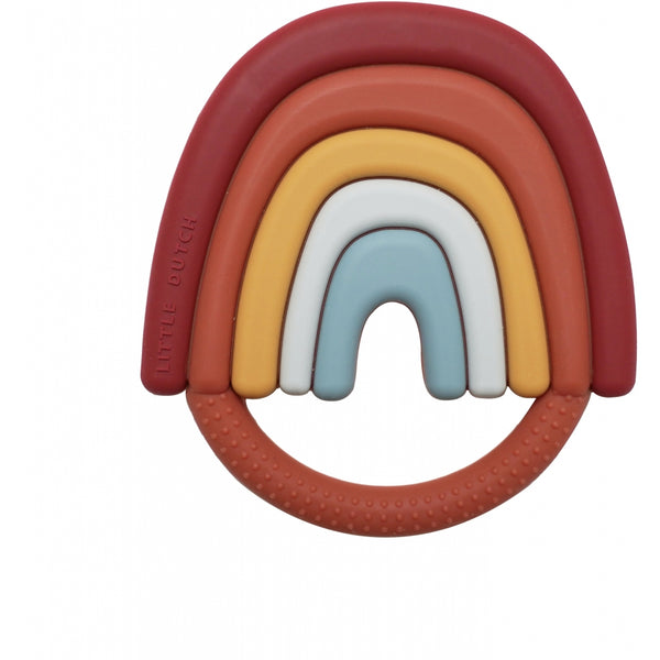 Little Dutch Baby Rainbow Silicone Teether