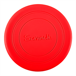 Scrunch Frisbee Red