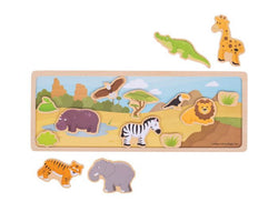 Magnetic Safari Story Scene
