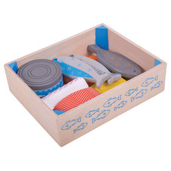 seafood crate by bigjigs