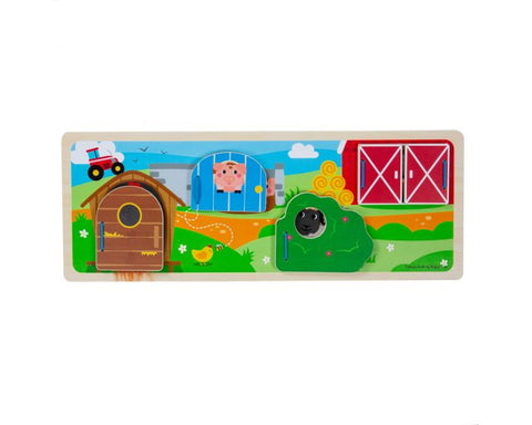 Bigjigs Sensory Board On The Farm