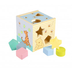 Classic Winnie The Pooh Wooden Shaper Sorter