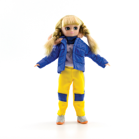 Lottie Doll Snow Day