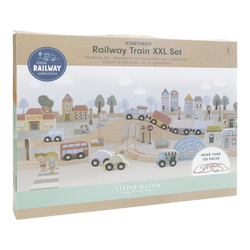 Little Dutch Railway XXL Starter Set