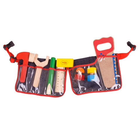 Red Carpenters Tool Belt by Bigjigs