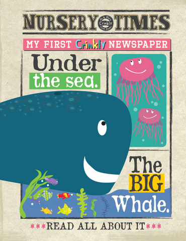 Crinkly Times - Under The Sea Cloth Book