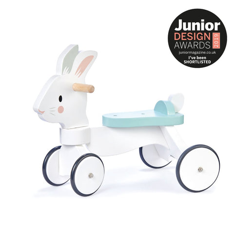 White Rabbit Ride On - Wooden Ride On