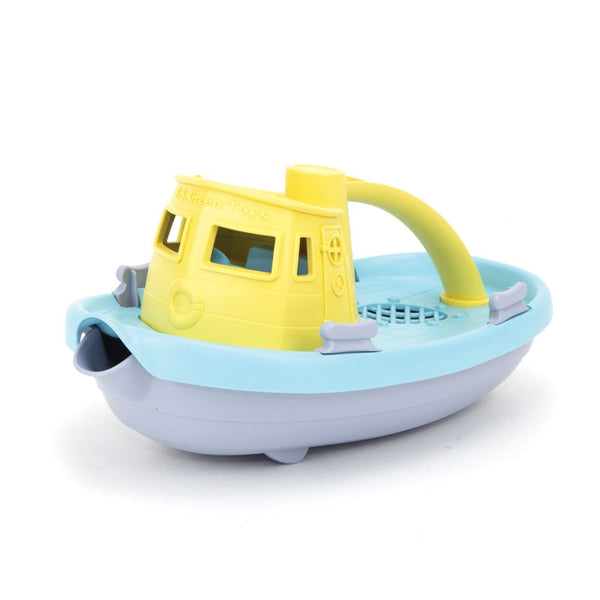 Tugboat Light Yellow by Green Toys