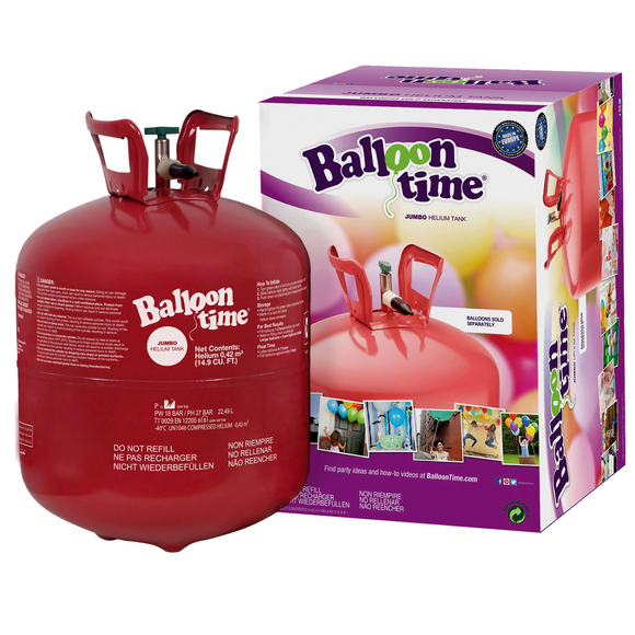 DISPOSABLE BALLOON GAS